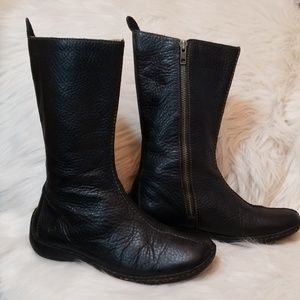 Born Andorra Leather Boots, Size 7/38